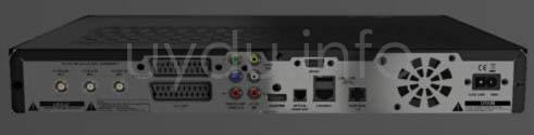 Digiturk Plus Receiver Arka Görünüm